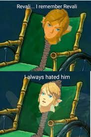 Zelda Memes - i remember when he first used revali s gale zelda breath meme and