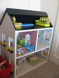 Modistamodesta Another Large Barbie House by How To Make Barbie Doll House How To Build A Dollhouse My Kids