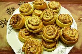 cannelle cuisine kanelboller ou roulé à la cannelle norvège recettes de cuisine