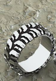 tire wedding ring mud tire ring i want this one tired ring and