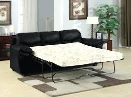 Black Leather Sleeper Sofa Leather Sofa Sleeper Boulder Leather Sleeper Sofa In