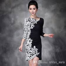 western modern women fashion dress rose printed nip waisted short