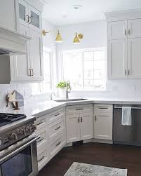 Best  Corner Kitchen Layout Ideas Only On Pinterest Kitchen - Corner sink kitchen cabinets
