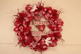valentines wreaths valentines day deco mesh wreath tutorial