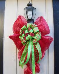 big christmas bows outdoor christmas bows happy holidays