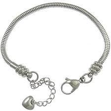 stainless steel charm bracelet images Steel charm bracelet shop jpg