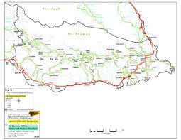 Map Of Kingston Jamaica Nwa Bridges And Roads National Works Agency