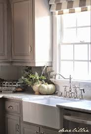 Kitchen With Gray Cabinets Dear Lillie Darker Gray Cabinets And Our Marble Review