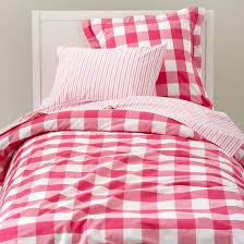 Red Gingham Duvet Cover Land Of Nod Breezy Gingham Bedding Copycatchic