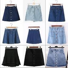 High Waisted Colored Jeans 2017 Mixed Colors And Sizes A Line Women U0027s Korean Style Mini Jeans