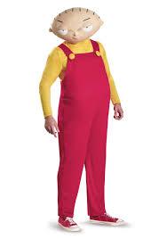 Halloween Costumes Teenage Guys Stewie Griffin Deluxe Size Costume