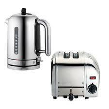 Dualit Stainless Steel Toaster Dualit Tea Kettle U0026 Toaster Sets Ebay