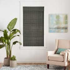 Bamboo Shades Blinds Arlo Blinds Privacy Grey Wash Bamboo Shade Free Shipping On