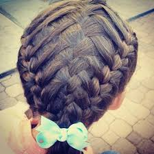 gymnastics picture hair style 48 best gymnastics hair images on pinterest braided hairstyle