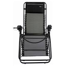 Zero Gravity Patio Chair by Jeco Oversized Zero Gravity Chair With Sunshade And Drink Tray