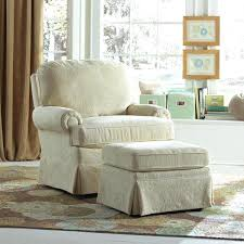 Upholstered Glider With Ottoman Upholstered Glider And Ottoman This Nursery Swivel Glider Has A