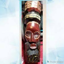 jamaican wood sculptures ebay