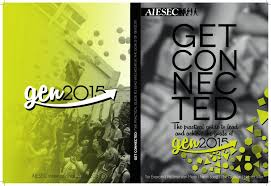 get connected a guide to leading gen2015 by aiesec international
