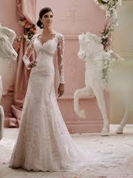 Pink Wedding Dresses With Sleeves Light Pink Lace Wedding Dress Naf Dresses