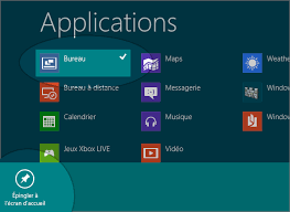 windows 8 raccourci bureau windows 8 comment mettre une tuile raccourci application sur l