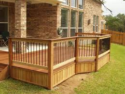 External Handrails Exterior Wood Handrail Details The Decking Handrails Posts And