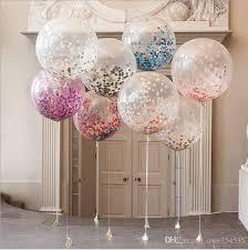 50 balloons delivered 12inch confetti balloon balloon wedding decoration