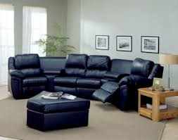 leather sectional sofa with recliner reclining sofas and sectionals