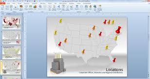us map for powerpoint presentations free usa powerpoint map free