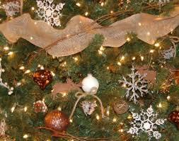 ornament pretty rustic tree decorating ideas for