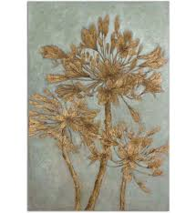 Uttermost Wall Sconces Uttermost 34275 Golden Leaves Wall Art Lamps Com