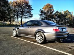 feeler thread 2002 bmw m3 steel gray cinnamon no sunroof