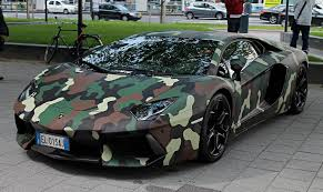 lamborghini aventador wrap lamborghini aventador with jungle camouflage wraped car