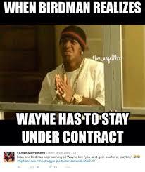 Lil Wayne Be Like Memes - lil wayne airing out birdman cash money sparks hilarious memes