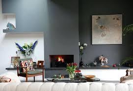 grey walls color accents room ideas grey feature wall amazing living room interior design