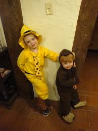 Curious George Costume Curious George And The Man In The Yellow Hat A K A Ted U2013 Sewing
