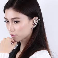 pics of ear cuffs new fashion brinco brand metal ear cuff charms peacock ear