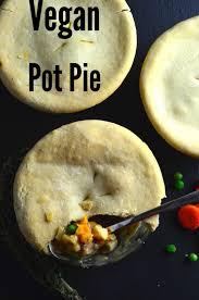 vegan pot pies with white wine gravy olive crust