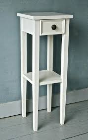 narrow side table narrow bedside table great tall narrow side table best narrow side