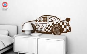 racing car xl wall decal nursery kids rooms wall decals boy racing car wall decals xl