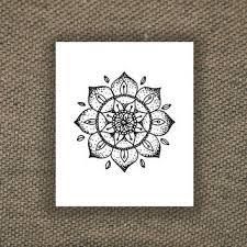 metallic mandala tattoo set from mytat