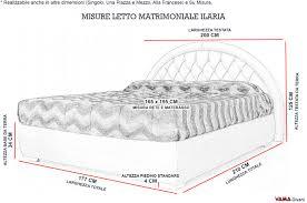 misura standard materasso 40 immagini idea di misure letto francese