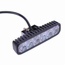 Led Light Bar For Cars by 2 Pieces 1800 Lm Mini 6 Inch 18w 6 X 3w Car Cree Led Light Bar As