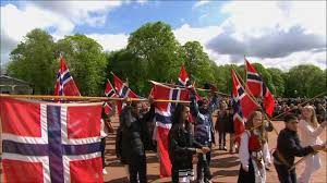 Flag Of Oslo 17 Mai Barnetog Oslo 2012 Youtube