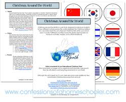 christmas around the world unit study confessions of a homeschooler