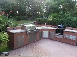 Stainless Doors For Outdoor Kitchens - outdoor kitchens backyard paradise