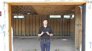 One Car Garage Dimensions Garage Hvac Youtube