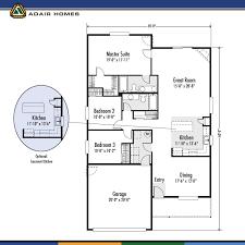 adair home plans adair homes garage plans home plan