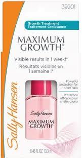 maximum growth sally hansen