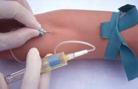 performing a venipuncture using a butterfly needle youtube