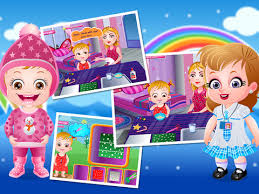 Baby Hazel Room Games - its seasons learning time help baby hazel in completing the tasks